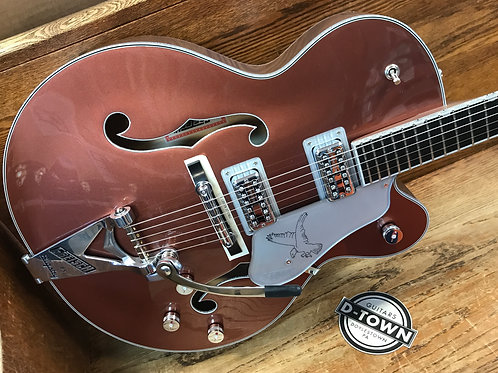 Gretsch G6136T Limited Edition Falcon Bigsby Ebony Fingerboard Two-Tone Copper/S