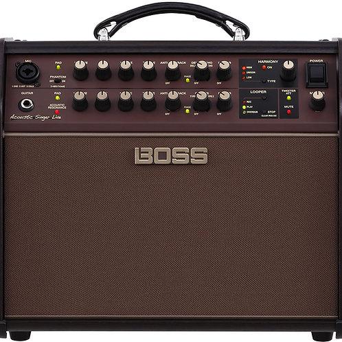 Boss Acoustic Singer Live Amp
