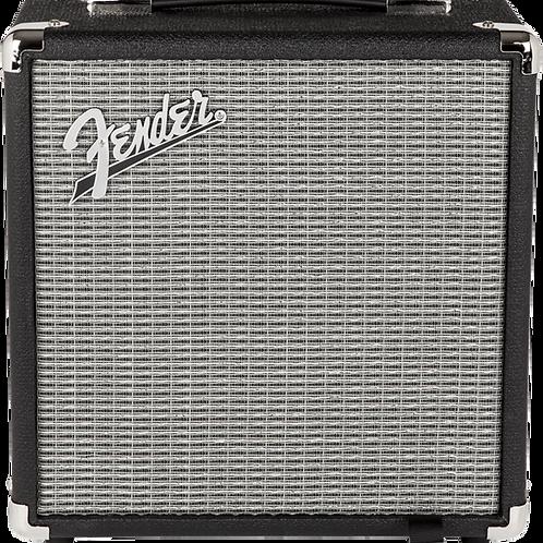 Fender Rumble 15 (V3), 120V, Black/Silver