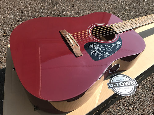 Epiphone Starling Dreadnought Acoustic Guitar Wine Red $149