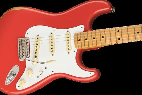 Fender Vintera Road Worn '50s Stratocaster, Maple Fingerboard, Fiesta Red