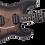 Thumbnail: EVH 5150 Series Deluxe Poplar Burl, Ebony Fingerboard, Black Burst
