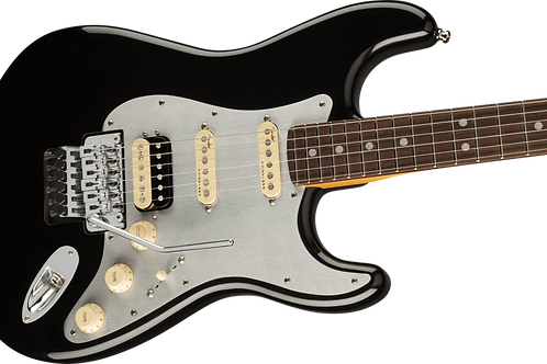 Fender Ultra Luxe Stratocaster Floyd Rose HSS Rosewood Fingerboard Mystic Black