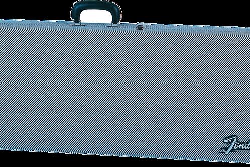Fender G&G Deluxe Strat Tele Hardshell Case Black Tweed with Black Interior
