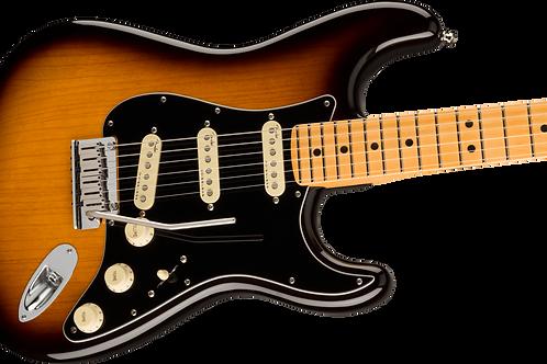Fender American Ultra Luxe Stratocaster, Maple Fingerboard, 2-Color Sunburst