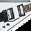 Thumbnail: Jackson JS Series King V JS32 Amaranth Fingerboard White with Black Bevels