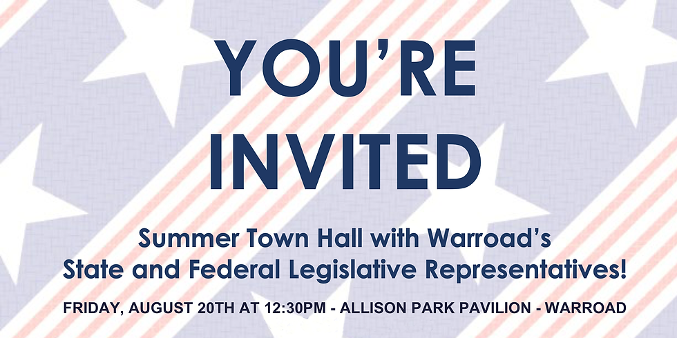 Summer Town Hall In Warroad