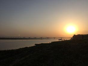 Bhagalpur Ganga views sunset