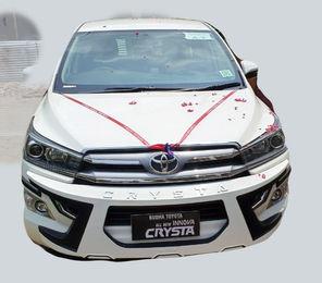 New model Innova Crysta on rent near Patna airport.