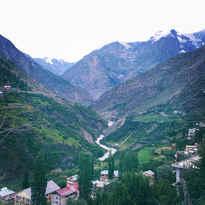 village in nepal hill