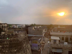 Sunset view from Darbhanga maharaj Fort in Darbhanga