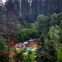 kathmandu from hight hills