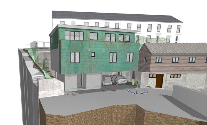 Visualisation of Lemonade Quarry House