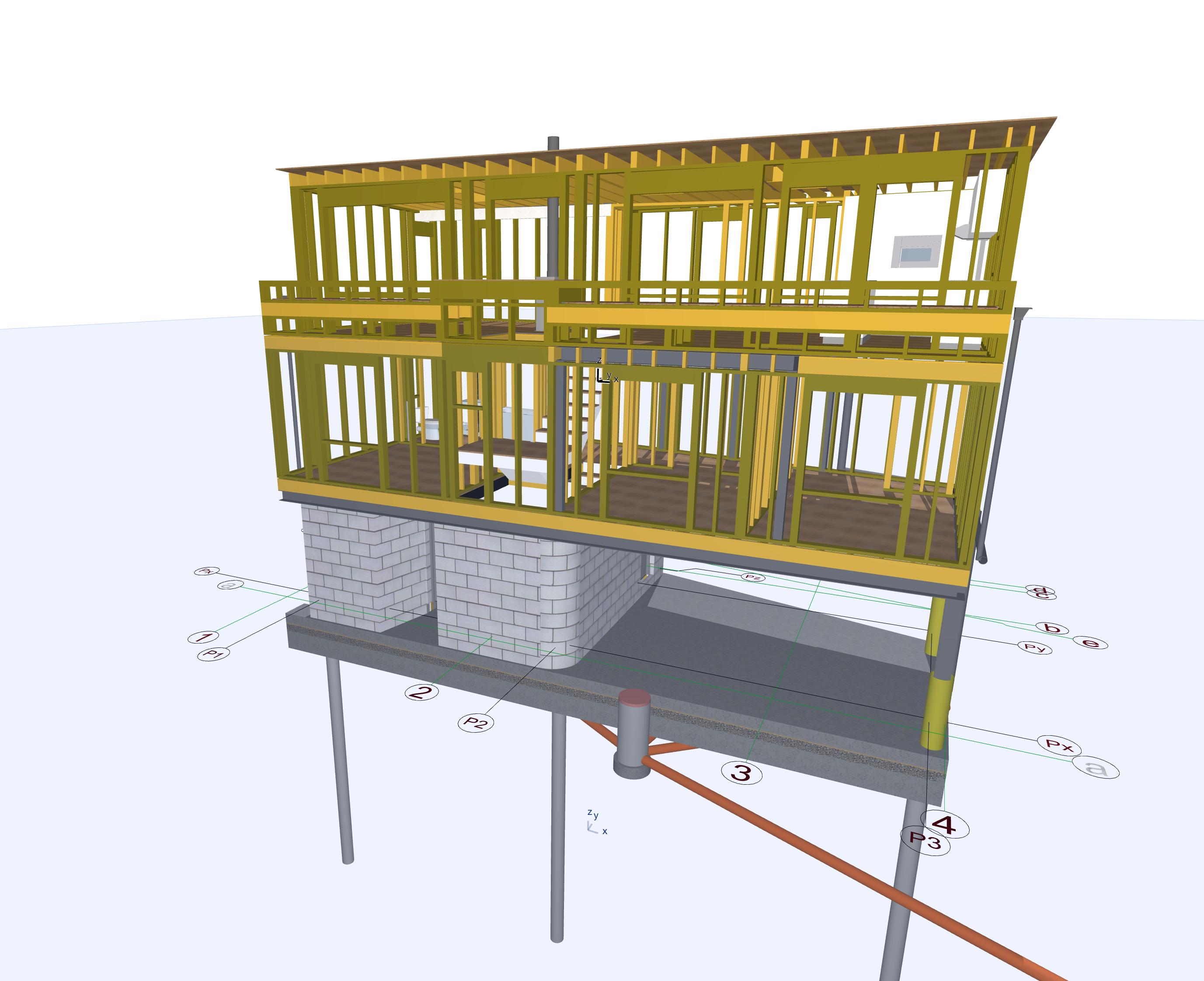 3d BIM Construction