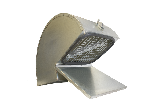 Ground operated lid lifter
