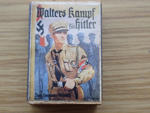 Very Rare Hitler Youth Matchbox with original matches