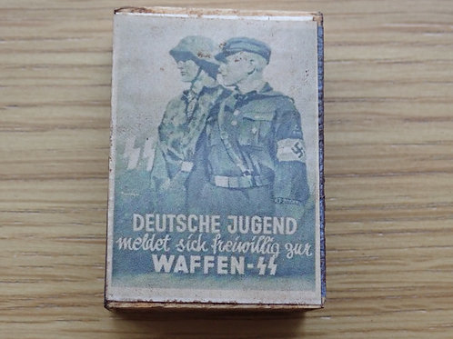 Very Rare Hitler Youth/SS Matchbox with original matches