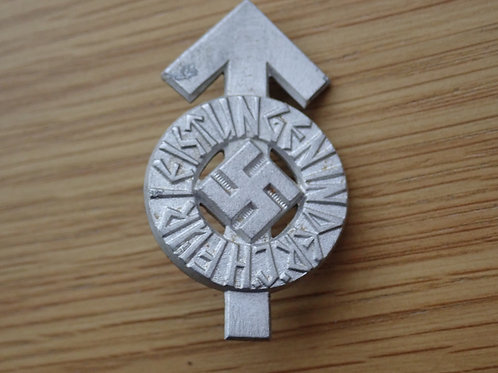 Hitler Youth Proficiency Badge 1934 in Silver