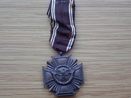 N.S.D.A.P Cross for10 years Bronze Medal