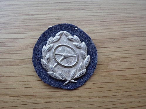 2nd CLASS SILVER DRIVERS PROFICIENCY BADGE. MINT