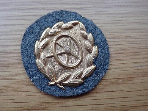1st CLASS GOLD  DRIVERS PROFICIENCY BADGE. MINT