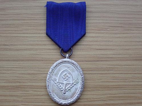 Mans Silver RAD Medal