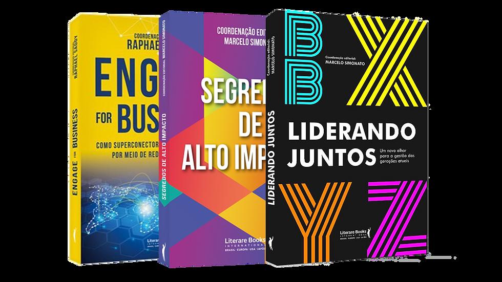Promoção de Lançamento - Combo 3 Livros