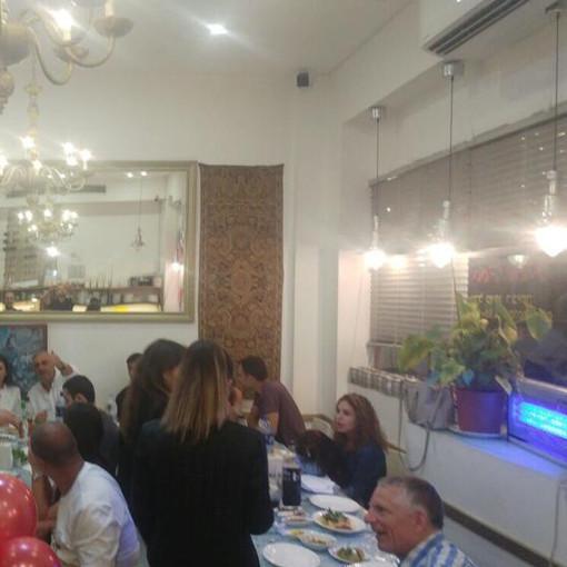 ארוע פרטי במסעדה