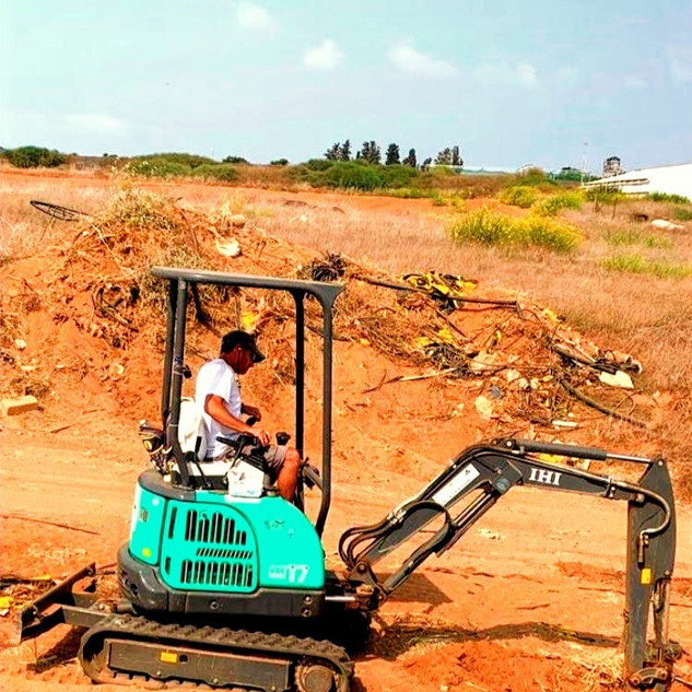 במהלך עבודת עפר