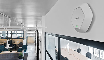access-point-in-office-LAPAC1200C