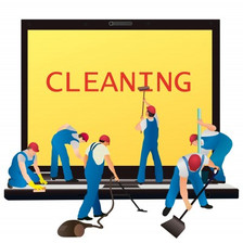 desktop cleaning