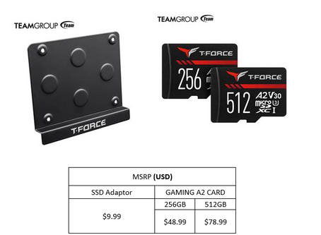 TEAMGROUP Launches Stellar New T-FORCE Products