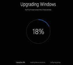 upgrade windows