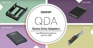QNAP Intro's the QDA Series of Drive Adapters for PC and NAS - QDA