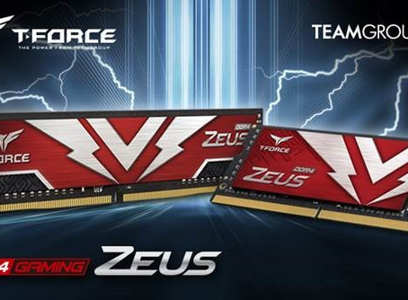 TEAMGROUP Launches Two ZEUS Series Gaming Memory Modules
