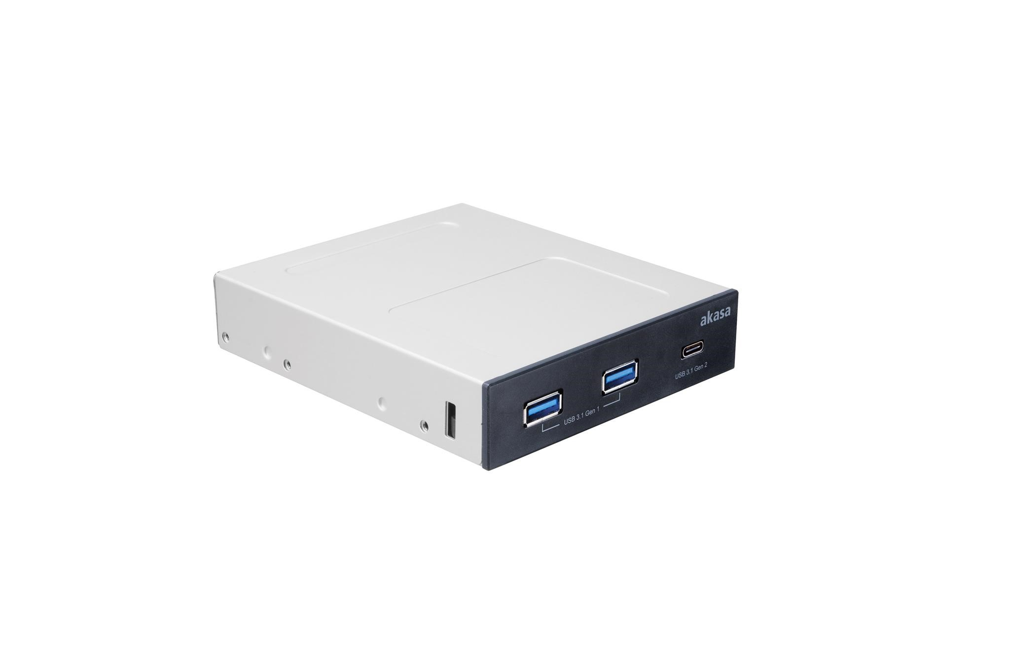 front pannel akasa usb3.1