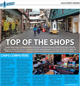 Top of the Shops Chips Computers Chesterfield