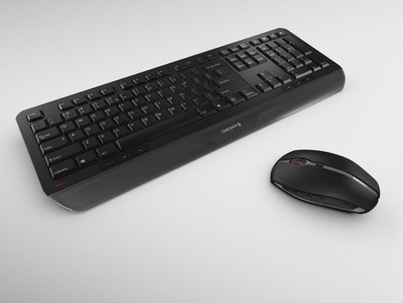 CHERRY'S GENTIX DESKTOP: UNITED YET UNBOUND – THE GENTIX MOUSE TOGETHER WITH A NEW KEYBOARD