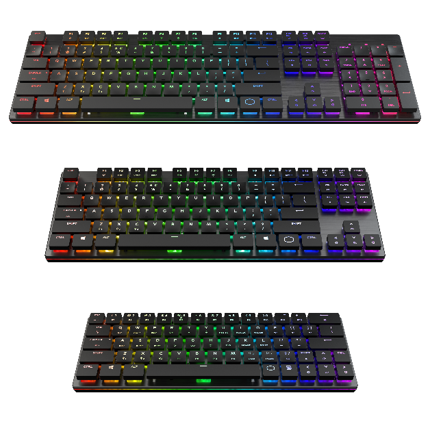 Cooler Master Introduces Low Profile Keyboard Series Sk630 Sk650