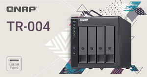 QNAP Launches the TR-004, a 4-bay Hardware RAID Storage