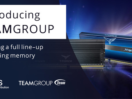 CMS Distribution Announces Partnership with TEAMGROUP