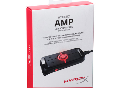 HyperX Amp - USB Sound Card - Available now!