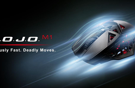 MAD CATZ ANNOUNCES THE M.O.J.O. M1 LIGHTWEIGHT GAMING MOUSE