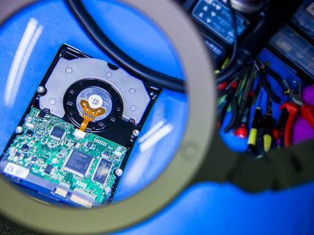 When should i send an item for Data Recovery?