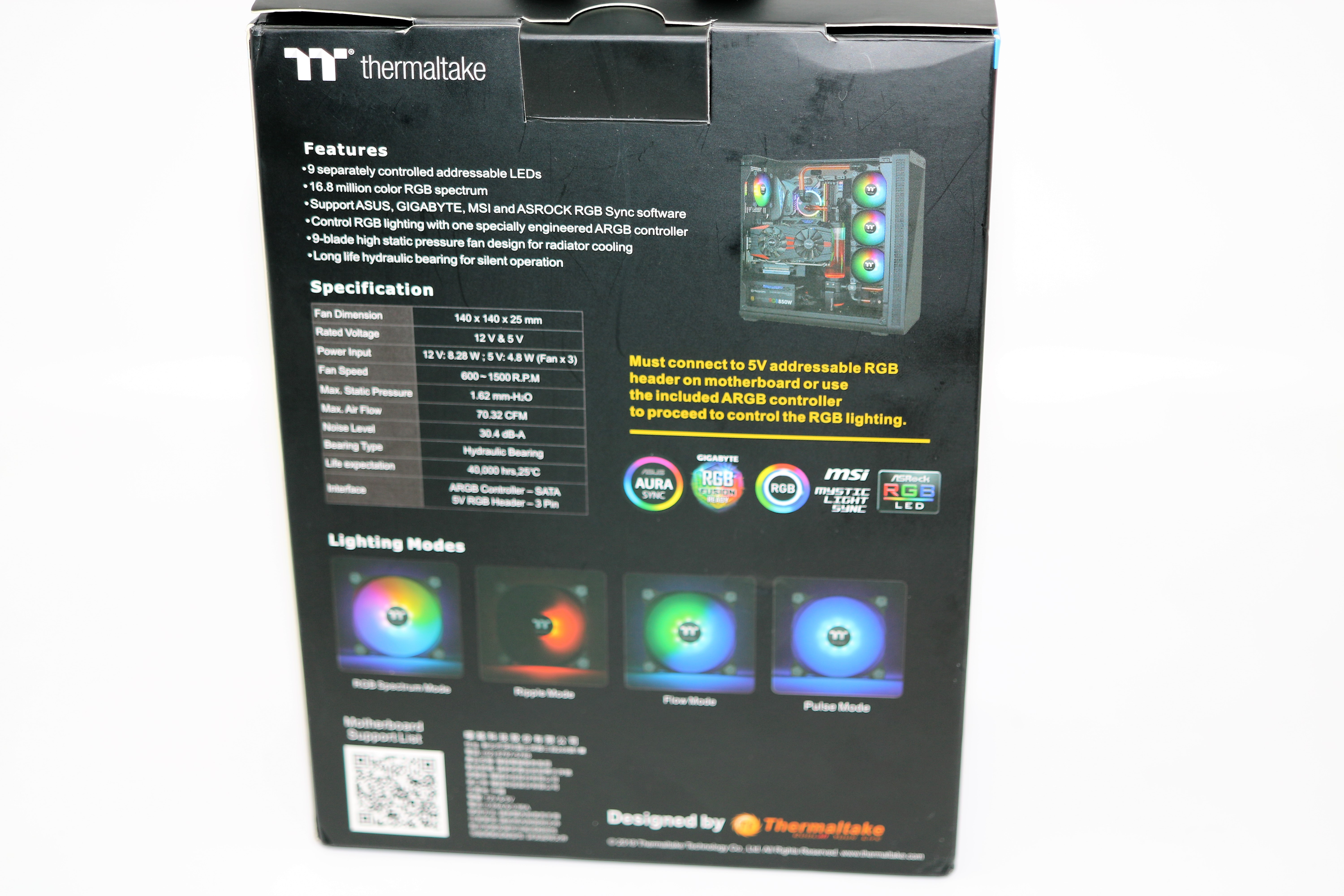 Thermaltake Pure14 Fan Kit Review CL-F080-PL14SW-A |