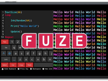 FUZE TECHNOLOGIES LAUNCHES RETRO CODING COMPETITION WITH OVER £3,800 WORTH OF PRIZES AND GIVEAWAYS!