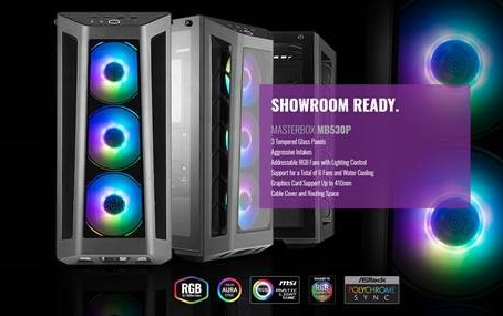 Two New Cooler Master  Masterbox's.  The MB520 and MB530P!