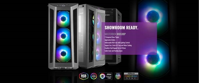 Two New Cooler Master Masterbox's  The MB520 and MB530P!