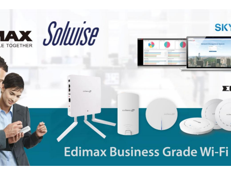 Edimax and Solwise join forces