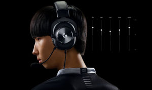 Logitech Lunch G PRO X Gaming Headset with Blue VO!CE Tech